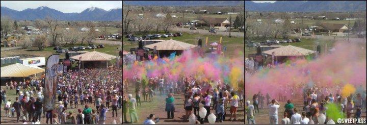 festival of colors utah toss