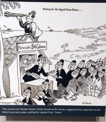 dr seuss japanese cartoon wwii